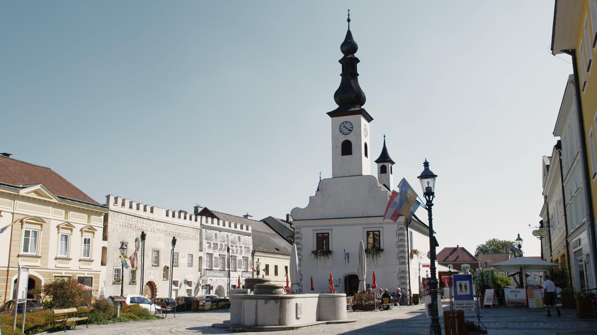 Gmünd Dorfplatz